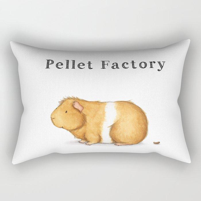 Pellet Factory - Guinea Pig Poop Rectangular Pillow