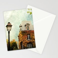 Autumnal Montmartre Stationery Cards