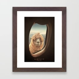 QUÈ PASA? NEVER STOP EXPLORING Framed Art Print