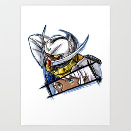 Turn A Gundam Art Print