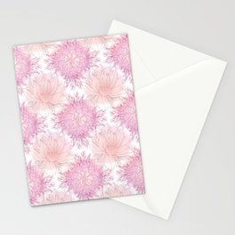 Nenuphars Pink Stationery Cards