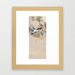 Kobayashi Kokei - Kumawakamaru - Japanese Painting Framed Art Print
