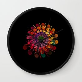 PLOWER FULL COLOR Wall Clock