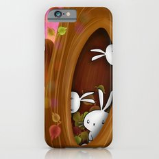 Bunny tree iPhone 6 Slim Case