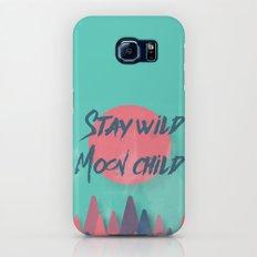 Stay wild moon child (tuscan sun) Slim Case Galaxy S6