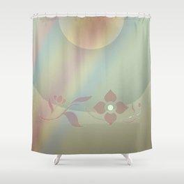 Copper blossom Shower Curtain