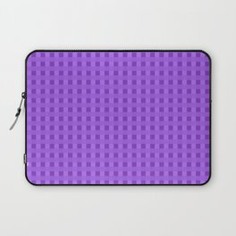 Retro Purple Squares Laptop Sleeve
