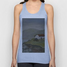 Cottages by the Sea WC160607o-15 Unisex Tank Top
