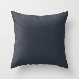 Port of Call ~ Blue-Grey Throw Pillow