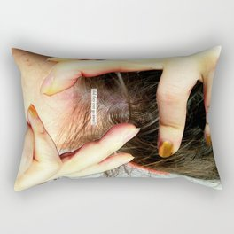 Do we wallow in our mental health issues because we think they make us more interesting as people an Rectangular Pillow