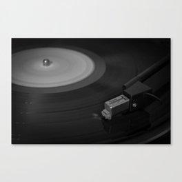 Vinyl Spins Canvas Print