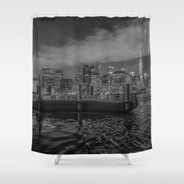 NYC Illuminated Shower Curtain