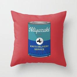 Kiki's delivery service - Miyazaki - Special Soup Series  Throw Pillow