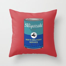 Kiki's delivery service - Miyazaki - Special Soup Series  Throw Pillow