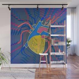 Pop Heart Wall Mural