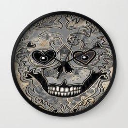 CC Skully Wall Clock