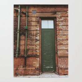Faded Entry Poster