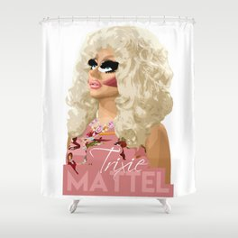 Trixie Mattel, RuPaul's Drag Race Queen Shower Curtain