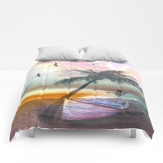 Exotic Beach Comforters