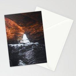 Oregon Coast Devil's Punchbowl | Travel Photography Stationery Cards