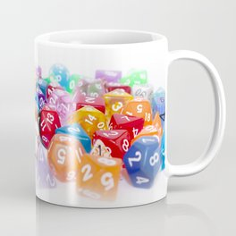 Treasure Trove of Gaming Dice Coffee Mug