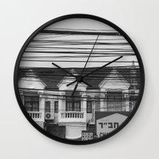 Cables III Wall Clock