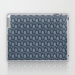 Cuckoo Clocks on Blue Laptop & iPad Skin