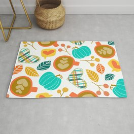 Pumpkin Spice Love Rug