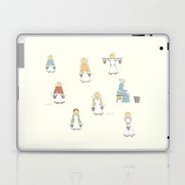 Eight Maids-a-Milking Laptop & iPad Skin