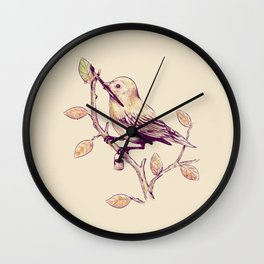 Getting Ready For Fall Wall Clock