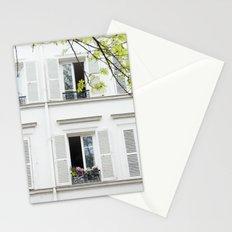 White, white windows Stationery Cards
