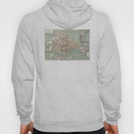 Map of Venice - 1886 Hoody