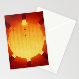 Mars - The Seven Sisters Stationery Cards