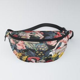 Floral and Pin-Up Girls IV Fanny Pack