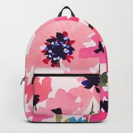 Peachy Wildflowers Backpack
