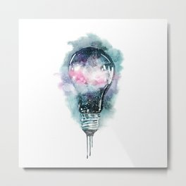The Universal Light Metal Print