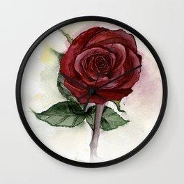 I Like Roses Wall Clock