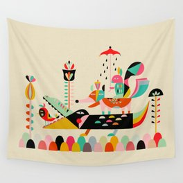 Wired Jungle Wall Tapestry