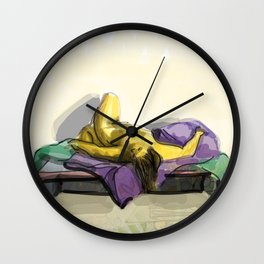 Figure Drawing Wall Clock