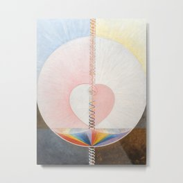Hilma af Klint - The Dove Metal Print