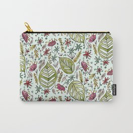 Tropical Rainforest pattern Carry-All Pouch