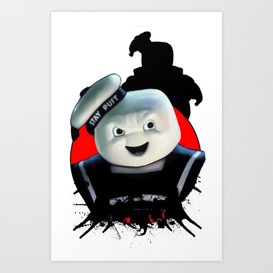 Stay Puft: Monster Madness Series Art Print