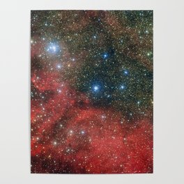 Star Cluster NGC 6604 Poster
