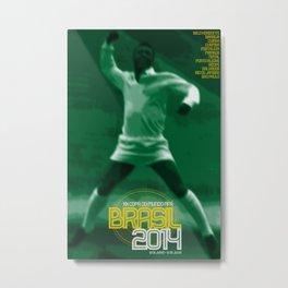 World Cup: Brazil 2014 Metal Print