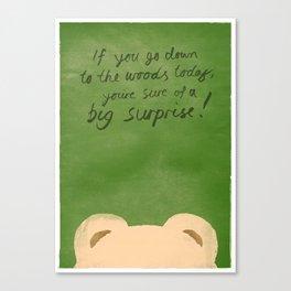 Teddy Bear's Picnic Canvas Print