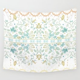 Boho floral Wall Tapestry