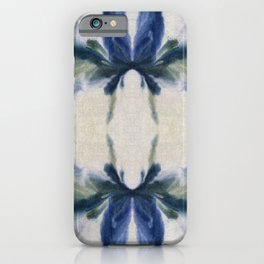 Abstract Butterfly Reflections iPhone Case