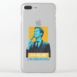 John Mulaney Clear iPhone Case
