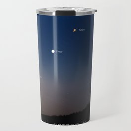 Southeast sky before sunset. Travel Mug