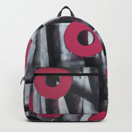 Fuchsia Circles Backpack